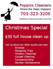 Residential Cleaning and Senior Services