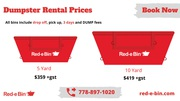 Dumpster Rental Prices in Victoria | Junk Pickup Cost