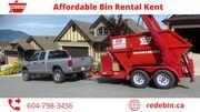Garbage Bin rental Kent | Red E Bin